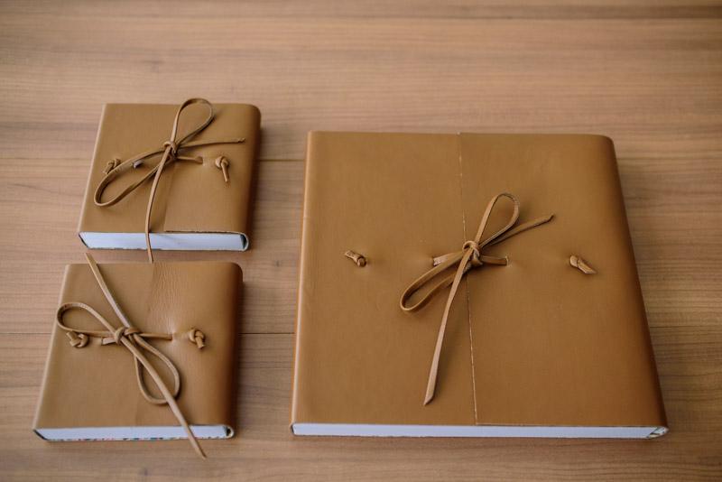Álbum de Casamento Capa de couro envelope (2)