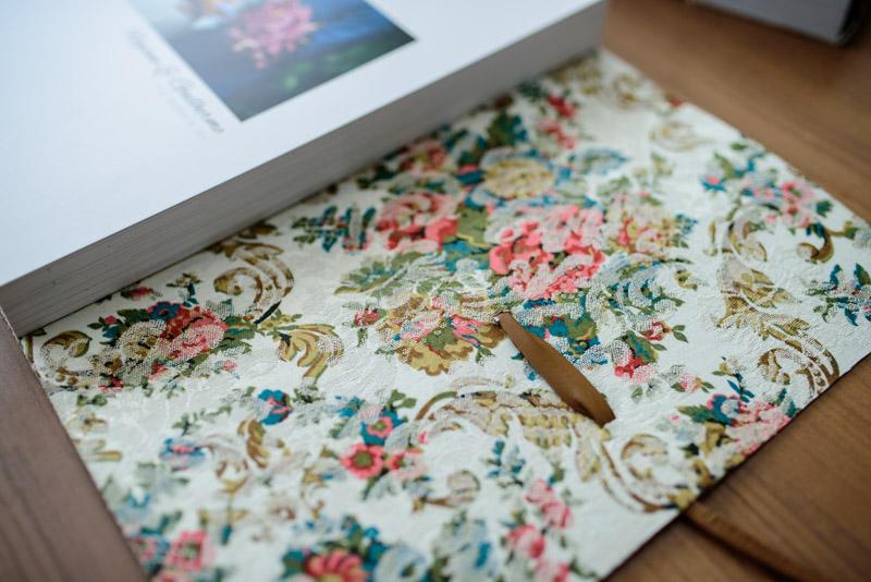 Álbum de Casamento Capa de couro envelope (4)