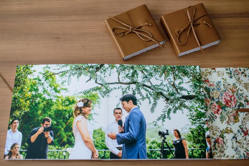 Álbum de Casamento Capa de couro envelope (5)