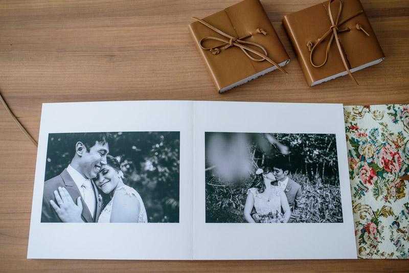 Álbum de Casamento Capa de couro envelope (6)