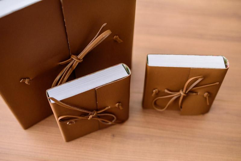 Álbum de Casamento Capa de couro envelope (8)